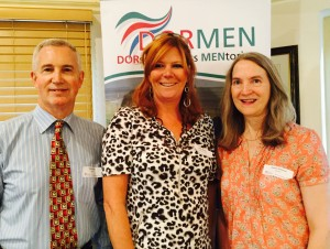 Vivian Dunn, Programme Manager Dormen, with Kate Shaw, KTPR Ltd, and Teresa Allwood, Programme Manager Dormen
